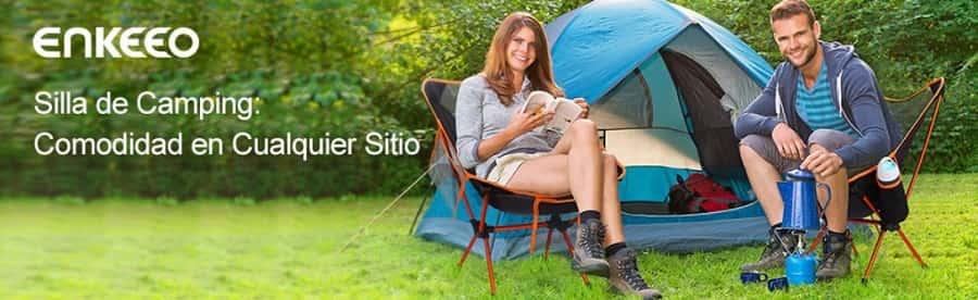 silla de camping pegable