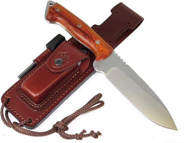 el mejor cuchillo de supervivencia del mundo